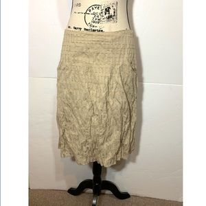 Piazza Sempione Side Pockets Dotted Skirt